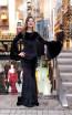 TK MT3956 Black Front Prom Dress