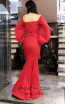TK MT3961 Red Back Evening Dress