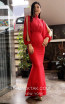 TK MT3964 Red Front Evening Dress