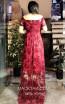TK MT3967 Bordo Back Prom Dress