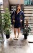 TK MT3971 Blue Front Short Dress
