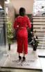 TK MT3978 Red Back Evening Dress