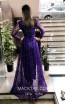 TK MT3992 Purple Back Dress
