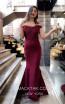 TK MT3996 Bordo Front Dress
