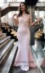 TK MT3996 Pink Front Dress