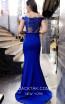 TK MT3996 Blue Back Dress