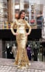 TK MT3999 Gold Front Dress