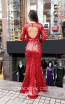 TK MT3999 Red Back Dress