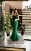 TK MT4903 Green Front Dress