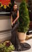 Pollardi Cia 5068 Black Front Dress