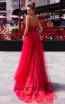 Pollardi Nikki 5077 Red Back Dress