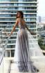 Pollardi Nihal 09011 Sharskin Back Evening Dress
