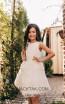 Pollardi 2041 Ivory Front Dress
