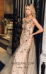 Sana Sabini 9239 Nude Front Evening Dress