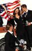 Tarik Ediz 93417 Black Front Evening Dress