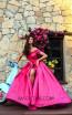 Tarik Ediz 50271 Fuchsia Dress