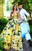 Tarik Ediz 50282 Yellow Dress