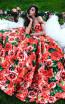 Tarik Ediz 50282 Red Dress