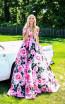 Tarik Ediz 50282 Pink Dress