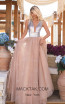 Tarik Ediz 50635 Nude Front Dress