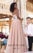 Tarik Ediz 50637 Nude Back Dress