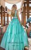 Tarik Ediz 50642 Mint Back Dress