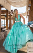 Tarik Ediz 50642 Mint Front Dress