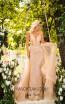 Tarik Ediz 50643 Gold Front Dress