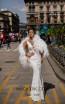 Tarik Ediz 93708 Ivory Front Dress