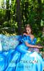 Tarik Ediz 50298 Prom Dirty Blue Dress