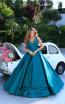 Tarik Ediz 50402 Front Prom Dress