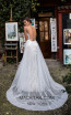 Tarik Ediz 50405 Ivory Back Prom Dress