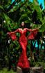 Tarik Ediz 50407 Red Front Prom Dress
