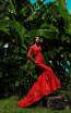 Tarik Ediz 50409 Red Front Prom Dress