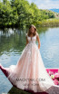 Tarik Ediz 50415 Powder Front Prom Dress