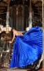 Tarik Ediz 50449 Royal Blue Back Prom Dress