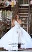 Tarik Ediz 50452 Ivory Prom Dress
