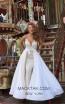 Tarik Ediz 50452 Ivory Front Prom Dress