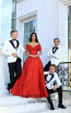 Tarik Ediz 50465 Red Front Prom Dress