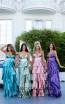 Tarik Ediz 50470 Colorfull Prom Dress