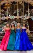 Tarik Ediz 50478 Colorfull Prom Dress