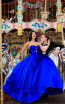 Tarik Ediz 50478 Royal Blue Front Prom Dress