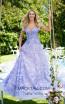 Tarik Ediz 50500 Lilac Front Prom Dress