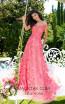 Tarik Ediz 50500 Pink Front Prom Dress