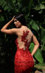 Tarik Ediz 50501 Red Prom Dress