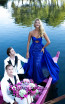 Tarik Ediz 50532 Royal Blue Front Prom Dress
