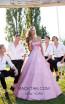 Tarik Ediz 50549 Pink Front Prom Dress