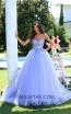 Tarik Ediz 50555 Lilac Front Prom Dress