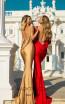 Tarik Ediz 50756 Back Dress
