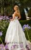 Tarik Ediz 50759 Ivory Back Dress